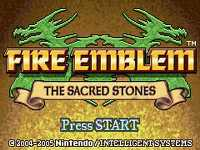 Fire Emblem The Sacred Stone