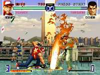 KOF 02 Be the fighter
